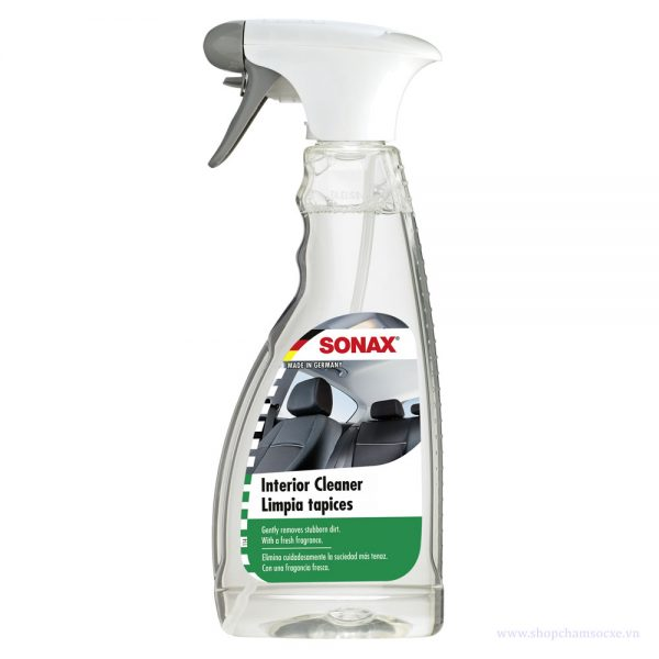 Dung dịch vệ sinh nội thất xe hơi Sonax Interior cleaner 500ml 321200