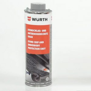 Sơn phủ gầm xám Wurth 0892075300 underbody protection grey 1000ml - shopchamsocxe