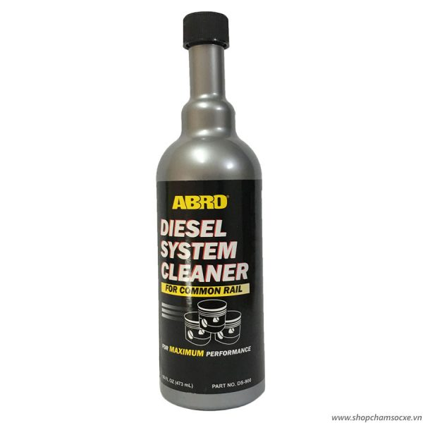 Dung môi phụ gia dầu Abro Diesel System Cleaner 473ml