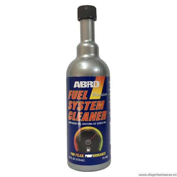 Dung môi phụ gia xăng Abro Fuel System Cleaner 473ml