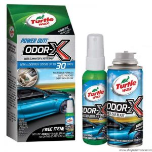 Khử mùi ô tô Turtle Wax Power Out 2 Odor-X Whole Car